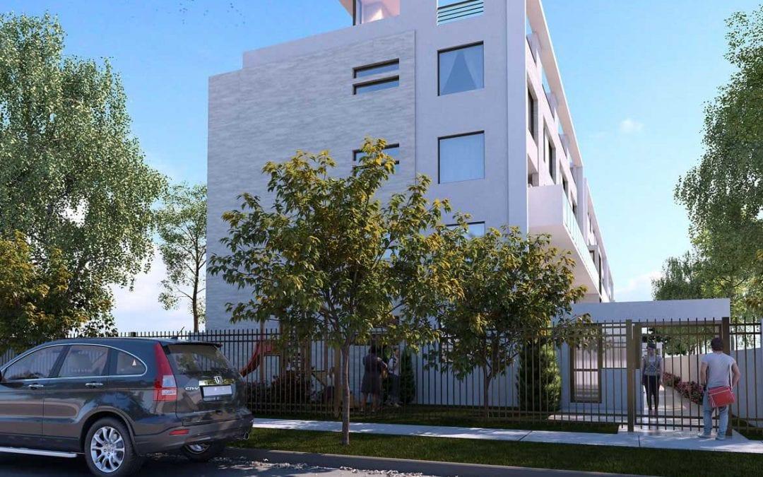 Renders Arquitectura Edificio de viviendas