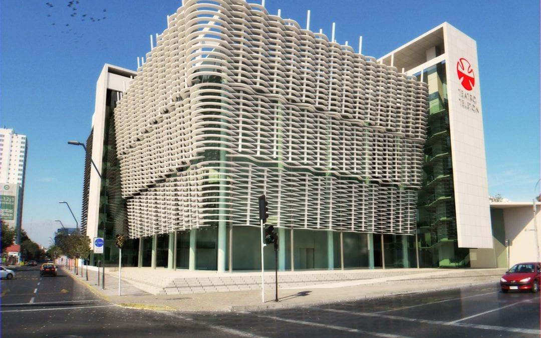 Edificio Teletón Infografía 3D Chile.