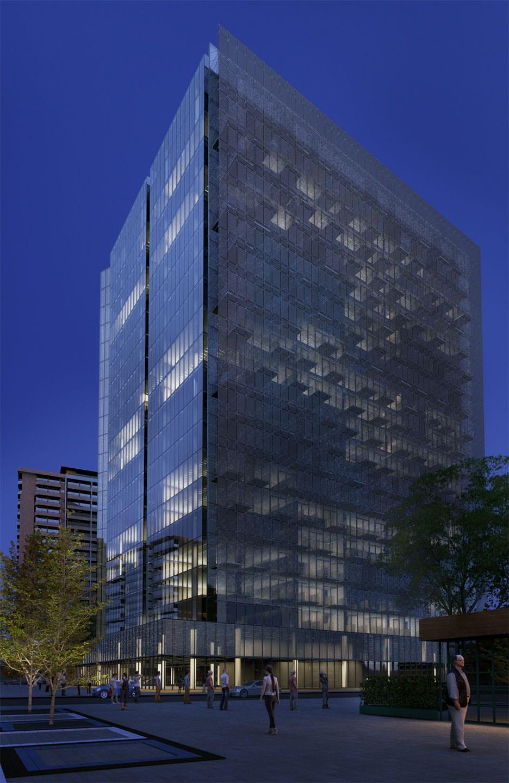 infografía-3d-Edificio-Noche