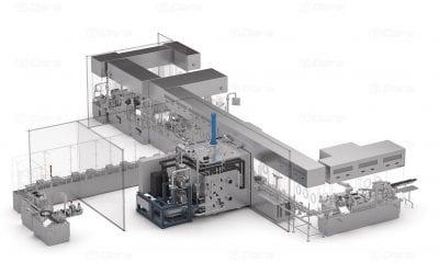 Render 3d diseño industrial Dara-Pharma